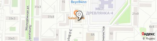 Дента плюс на карте Петрозаводска