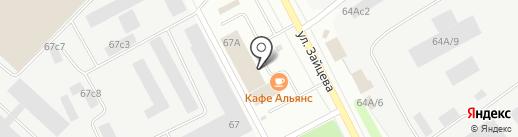 FC Arena на карте Петрозаводска
