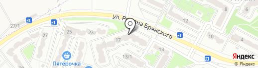 Провиант на карте Брянска