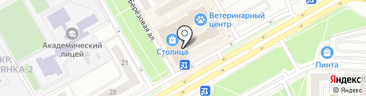 Магазин обуви на карте Петрозаводска