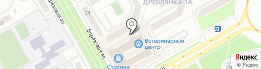Шеф-Мастер на карте Петрозаводска