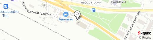 Петрозаводский региональный центр связи на карте Петрозаводска