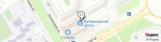 Сладкоежка на карте Петрозаводска