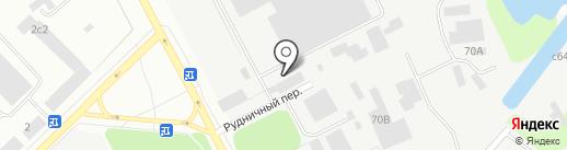 Арт-Диамант на карте Петрозаводска