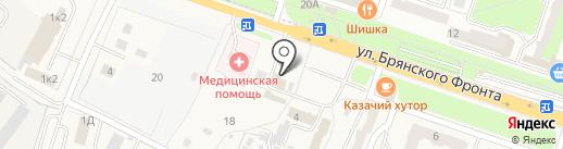 Управление Федеральной службы по ветеринарному и фитосанитарному надзору по Брянской и Смоленской областям на карте Путевки