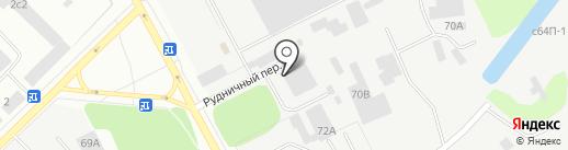 Риус на карте Петрозаводска