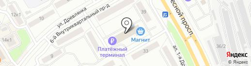 Триал на карте Петрозаводска