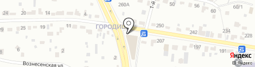 АТЦ Брянск на карте Брянска