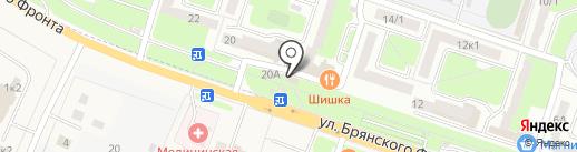 Сласти от Насти на карте Брянска