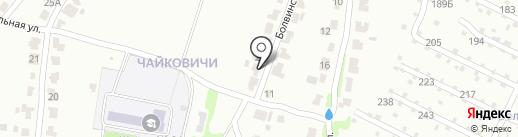 Караван-Крафт на карте Брянска