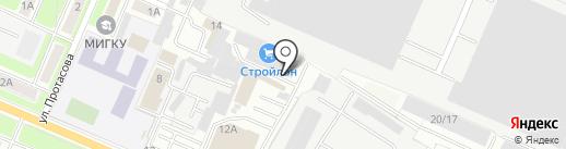 СДЭК на карте Брянска