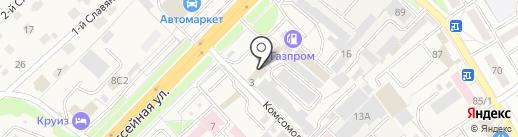Грос на карте Брянска