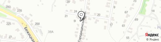 Возрождение на карте Брянска