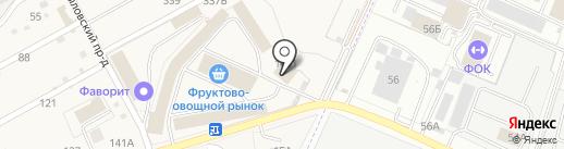 Пекарня Тарвердян Г.И. на карте Брянска
