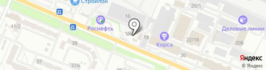 Искра на карте Брянска