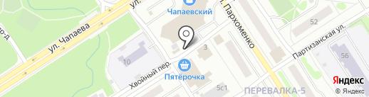 Медовая аптека на карте Петрозаводска
