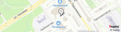 Киоск по продаже рыбы на карте Петрозаводска