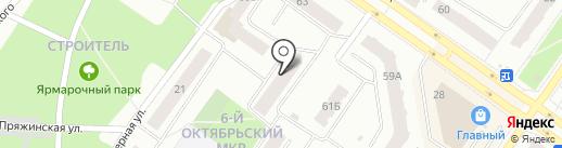 Элвед на карте Петрозаводска