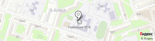 Детская школа искусств №1 им. Т.П. Николаевой на карте Брянска