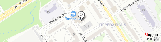 Нива Трофи на карте Петрозаводска