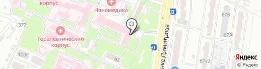 Феникс на карте Брянска