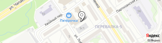 КомпАс на карте Петрозаводска
