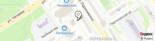 Ключ Здоровья на карте Петрозаводска