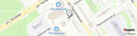 АВТОМАГ на карте Петрозаводска