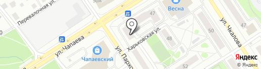 ЗЕБРАНО на карте Петрозаводска