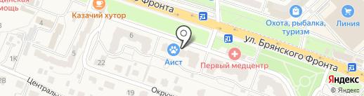 Аист на карте Путевки