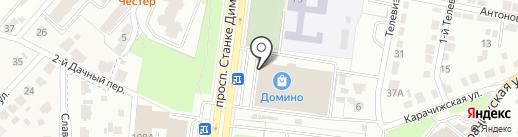 АйКрафт на карте Брянска