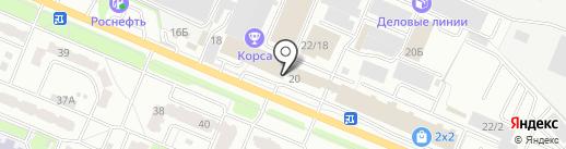 Катюша на карте Брянска