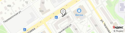 Секонд-хенд на карте Петрозаводска