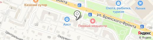 Брянское Объединение Строителей на карте Путевки