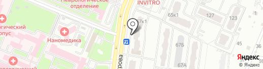 Магазин цветов и сувениров на карте Брянска