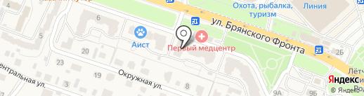 Подгузон на карте Путевки