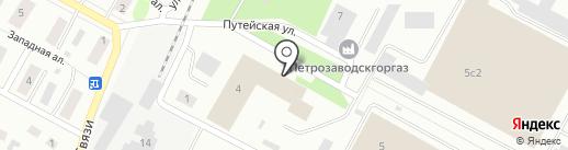 1 отдельный пост Пожарной части №4 на карте Петрозаводска