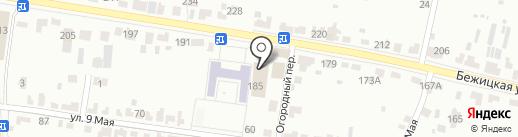 Оценочная компания на карте Брянска