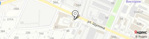Город Звука на карте Брянска
