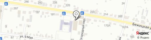 Автокраска32 на карте Брянска