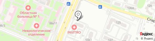 Брянский Флебологический Центр на карте Брянска
