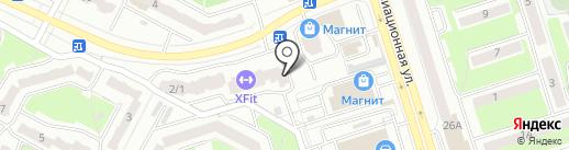 Алла Белла на карте Брянска