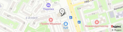 ULTRALUX на карте Брянска