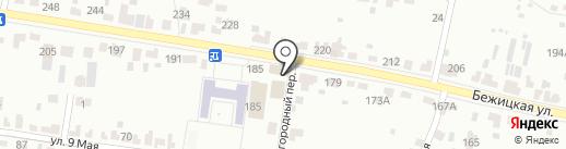 Окна Клен на карте Брянска