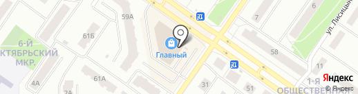 Главный на карте Петрозаводска