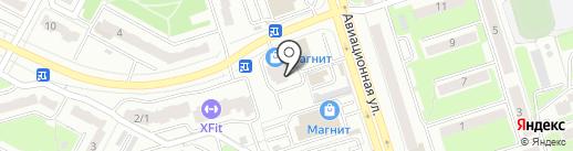 Сто Одежек на карте Брянска