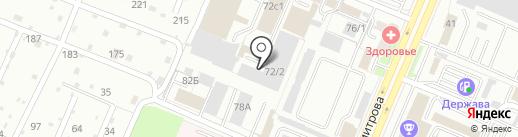 Брянская Напольная Компания на карте Брянска