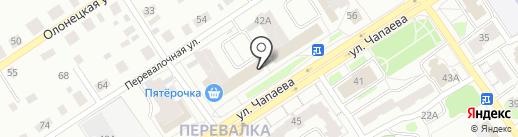 Калина Фарм на карте Петрозаводска