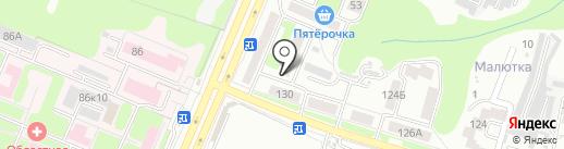 О-ля-ля на карте Брянска