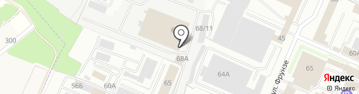 СНК на карте Брянска